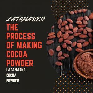 Latamarko non-alkalized Cocoa Powder