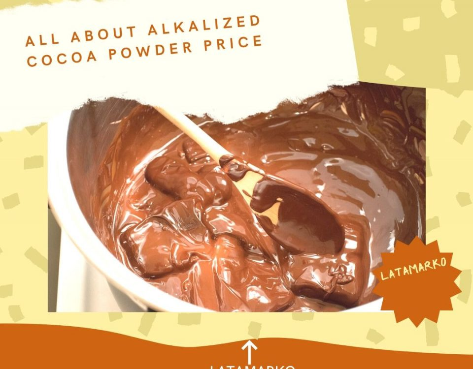 A short introduction on Latamarko alkalized cocoa powder